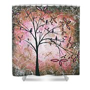 Vintage Couture By Madart Shower Curtain by Megan Duncanson