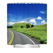 Waimea Ranch Land Shower Curtain by Bob Abraham - Printscapes
