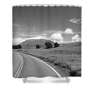Waimea Ranchland Shower Curtain by Bob Abraham - Printscapes