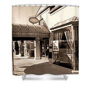 Walking Madison Shower Curtain by William Dey