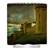 Warwick Castle Shower Curtain by Chris Lord