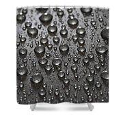 Water Drops Shower Curtain by Frank Tschakert