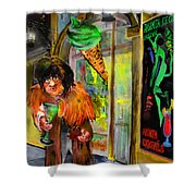 Welcome to The Czech Republic 02 Shower Curtain by Miki De Goodaboom