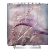 whispers in the wind Shower Curtain by Priska Wettstein