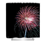 Wild Sky Flower Shower Curtain by Phill Doherty