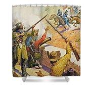 William Bent  Shower Curtain by Severino Baraldi
