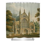 Winchester Cathedral Shower Curtain by John Buckler