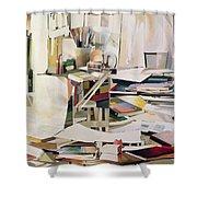 Wind Of Change Shower Curtain by Jeremy Annett
