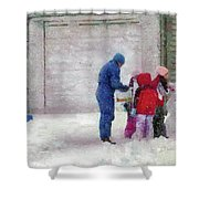 Winter - Re-constructive Surgery Shower Curtain by Mike Savad