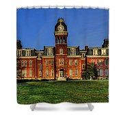 Woodburn Hall In Morning Shower Curtain by Dan Friend