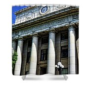 Yavapapi County Court House - Prescott  Shower Curtain by Saija  Lehtonen