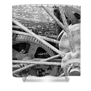 Yesteryear Shower Curtain by Michael Peychich