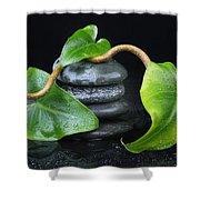 Zen... Shower Curtain by Manfred Lutzius