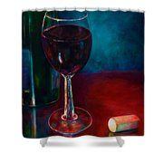 Zinfandel Shower Curtain by Shannon Grissom