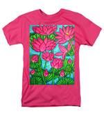 Lotus Bliss Men's T-Shirt  (Regular Fit) by Lisa  Lorenz