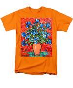 Iris Bouquet Men's T-Shirt  (Regular Fit) by Ana Maria Edulescu