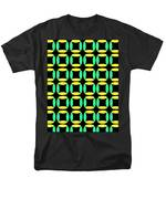 Boxes T-Shirt by Louisa Knight