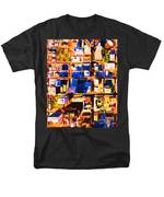San Francisco Birdseye Abstract . Painterly T-Shirt by Wingsdomain Art and Photography