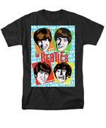 Beatles Pop Art T-Shirt by Jim Zahniser