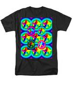 Thirteen Stars with Ring Gradients T-Shirt by Eric Edelman