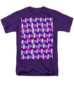 Squares Men's T-Shirt  (Regular Fit) by Louisa Knight