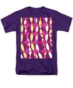 Swirly Stripe Men's T-Shirt  (Regular Fit) by Louisa Knight