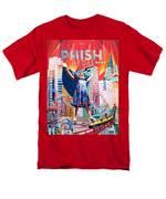 Fishman in Vegas T-Shirt by Joshua Morton