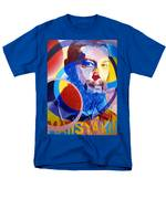 Matisyahu In Circles Men's T-Shirt  (Regular Fit) by Joshua Morton