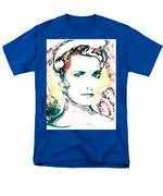 Digital Self Portrait Men's T-Shirt  (Regular Fit) by Kathleen Sepulveda