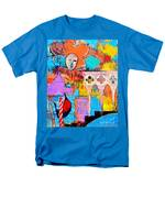 Search Of Lost Time In Venice Men's T-Shirt  (Regular Fit) by Ana Maria Edulescu