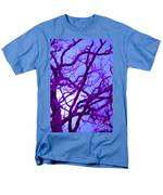 Moon Tree Purple Men's T-Shirt  (Regular Fit) by First Star Art