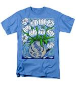 Tulip Tranquility Men's T-Shirt  (Regular Fit) by Lisa  Lorenz