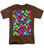 Hearts Men's T-Shirt  (Regular Fit) by Louisa Knight