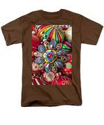 Colorful Ornaments Men's T-Shirt  (Regular Fit) by Garry Gay