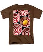 Lemon In Red And White Bowl  T-Shirt by Garry Gay