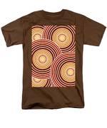 Abstract Circles Men's T-Shirt  (Regular Fit) by Frank Tschakert