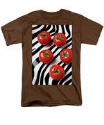 Five Tomatoes  Men's T-Shirt  (Regular Fit) by Garry Gay
