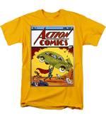 Superman Comic Book, 1938 Men's T-Shirt  (Regular Fit) by Granger