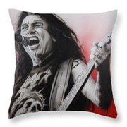 'arhhhhhhhh' Throw Pillow by Christian Chapman Art