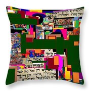 Atomic Bomb Of Purity 5 Throw Pillow by David Baruch Wolk