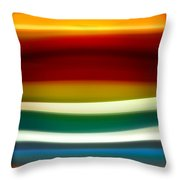 Fury Sea 3 Throw Pillow by Amy Vangsgard
