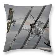 Gotcha Throw Pillow by Pat Speirs