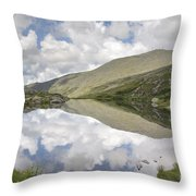Lakes Of The Clouds - Mount Washington New Hampshire Throw Pillow by Erin Paul Donovan