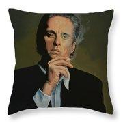 Michael Douglas Throw Pillow by Paul Meijering