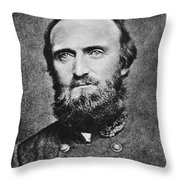 Stonewall Jackson Throw Pillow by Anonymous