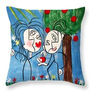 The Power Of Persuasion  Throw Pillow by Anthony Falbo