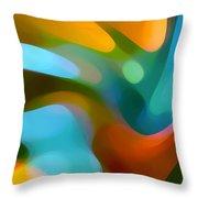 Tree Light 1 Throw Pillow by Amy Vangsgard