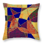 0268 Abstract Thought Throw Pillow by Chowdary V Arikatla