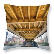 0309 Pittsburgh 4 Throw Pillow by Steve Sturgill