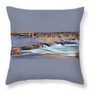 0331 Oak Creek Throw Pillow by Steve Sturgill
